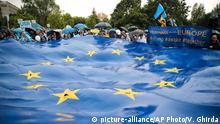 Europawahl 2019 | Rumänien, pro-EU-Kundgebung in Bukarest