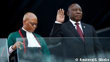 Südafrika Pretoria   Amtseinführung Cyril Ramaphosa, Präsident
