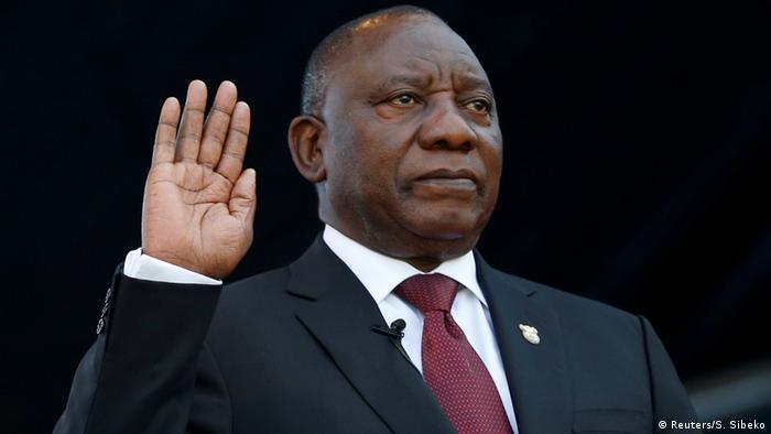 Südafrika Pretoria | Amtseinführung Cyril Ramaphosa, Präsident