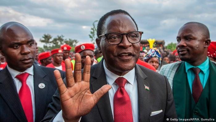 Lazarus Chakwera Präsidentschaftswahlen Kandidat Malawi