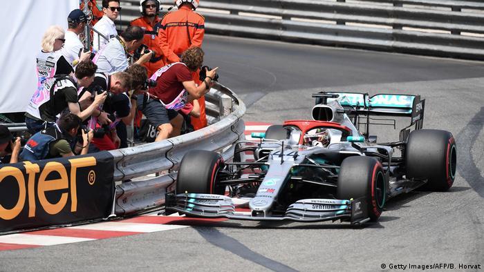 Formel 1 Großer Preis von Monaco   Pole für Hamilton