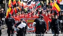 Far-right rally in Dortmund (picture-alliance/dpa/M. Becker)