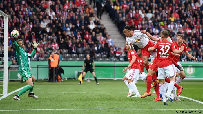 9872d794393 DFB Cup - Final - RB Leipzig v Bayern Munich (Reuters A. Hilse. Manuel  Neuer s ...