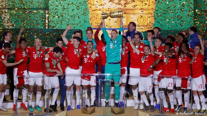 DFB Pokal Finale - RB Leipzig vs Bayern München (Reuters/F. Bensch)