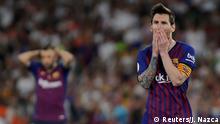 Fußball Spanien Copa del Rey - Finale - FC Barcelona v Valencia