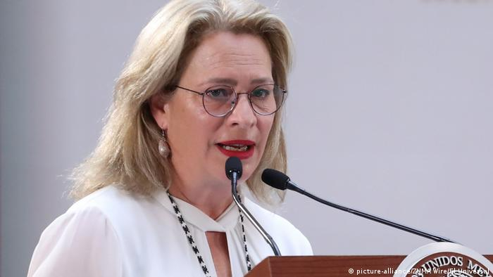 A ministra do Meio Ambiente do México, Josefa González Blanco Ortiz Mena