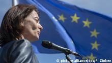 Europawahl 2019 l Katarina Barley, Spitzenkandidatin der SPD - Pulse of Europe (picture alliance/dpa/P. Zinken)