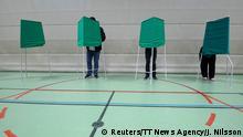 Schweden - Europawahl