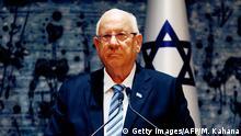 Deutschland Antisemitismus l Israels Präsident Reuven Rivlin reagiert auf Kippa-Warnung