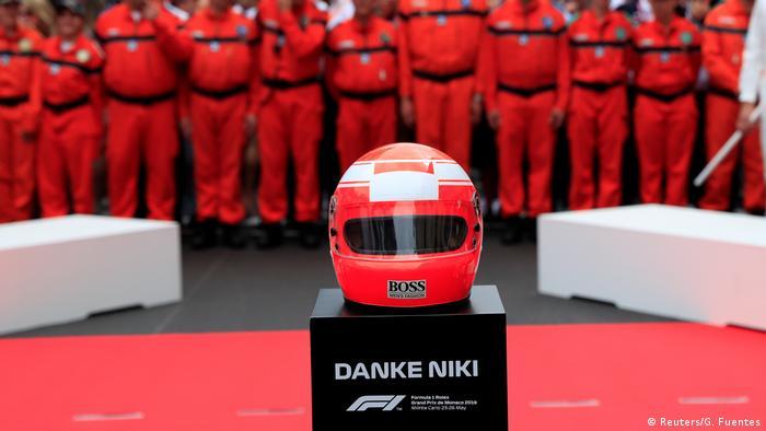 Formel 1 - Großer Preis von Monaco 2019 - Gedenken an Niki Lauda (Reuters/G. Fuentes)