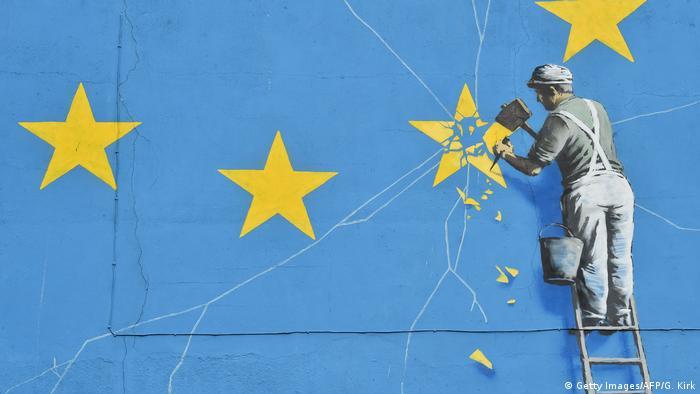 Графити на известния британски художник Банкси