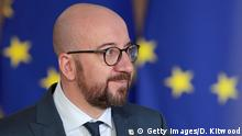 Charles Michel Premierminister Belgien Europafahne (Getty Images/D. Kitwood)