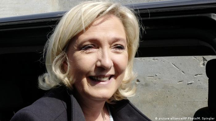 Europawahl 2019 Marine Le Pen (picture-alliance/AP Photo/M. Spingler)