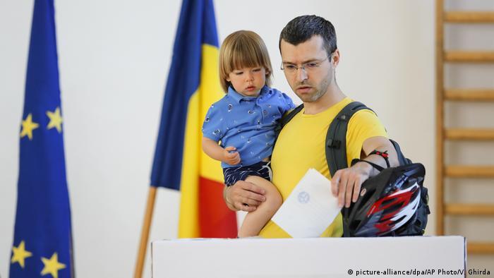 Голосование в Румынии