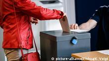 Berlin Europawahl Wahllokal
