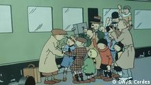 Belgien   Szenenbild im Museum Hergé