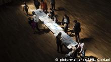Frankreich Lyon Europawahl