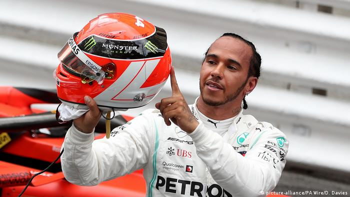 Lewis Hamilton Holds On To Win Dramatic Monaco Grand Prix Sports German Football And Major International Sports News Dw 26 05 2019