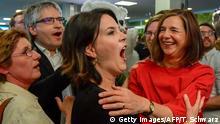 Europawahl Jubel bei Die Grünen Annalena Baerbock
