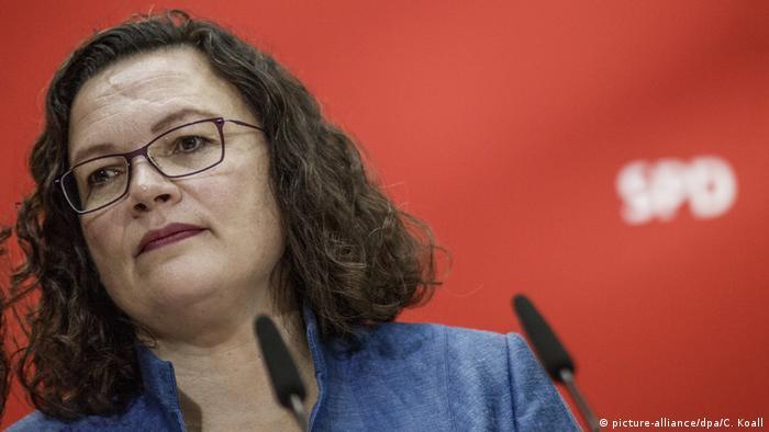 Andrea Nahles SPD Vorsitzende