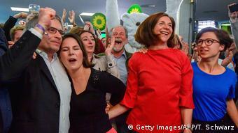 Зеленые радуются результатам выборов в Европарламент