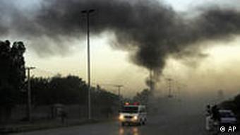 Pakistan Selbstmordanschlag Auto Bombe