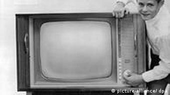 Altes Fernsehgerät (Foto: dpa)