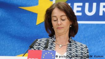 Deutschland | Eurawawahlen | Катарина ҷав ҷав SPD (акс-иттифоқ / dpa / W. Kumm)