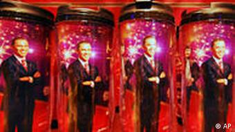 Barack Obama Madame Tussauds China Shanghai