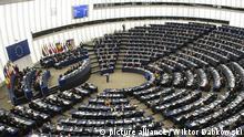 Straßburg EU Parlament Plenarsaal