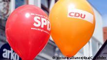 Symbolbild | SPD und CDU