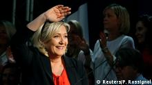 Frankreich Marine Le Pen Rassemblement National Europawahl Wahlkampf (Reuters/P. Rossignol)