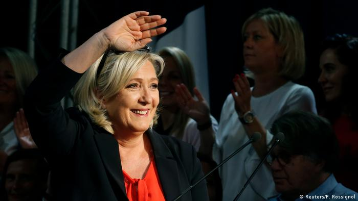 Frankreich Marine Le Pen Rassemblement National Europawahl Wahlkampf