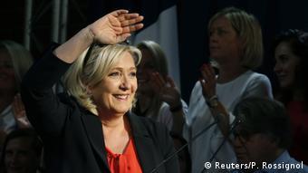 Frankreich Marine Le Pen Rassemblement National Europawahl Wahlkampf (Reuters/P. Rossignol)