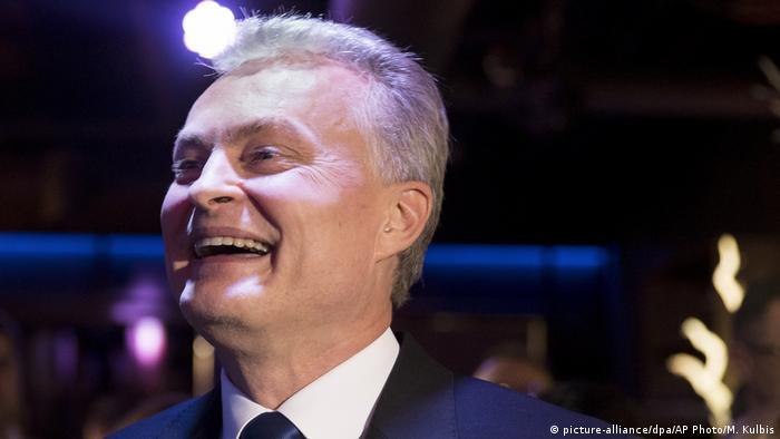 Lithuanian president elect Gitanas Nauseda