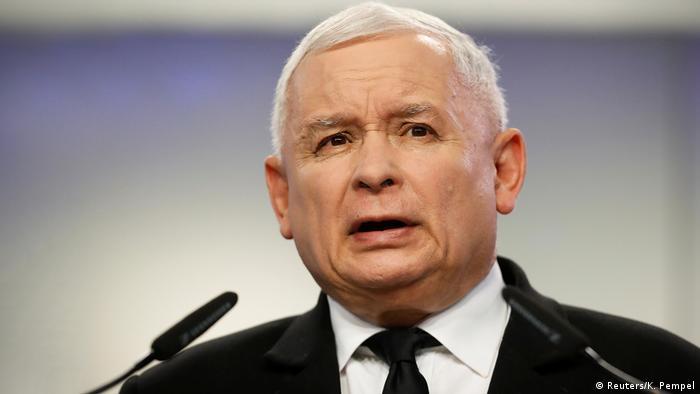Polen Jaroslaw Kaczynski PiS (Reuters/K. Pempel)