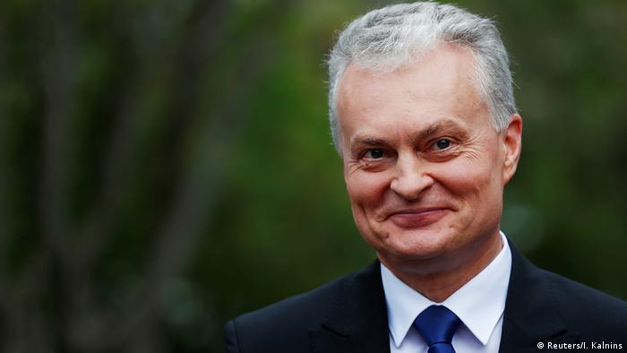 Президент Литвы Гитанаc Науседа