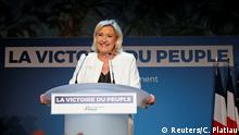 Europawahlen Frankreich Marine Le Pen Rassemblement National