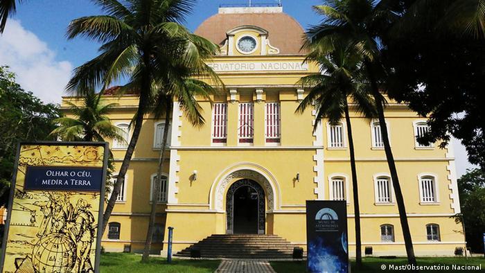 Brasilien Sonnenfinsternis in Sobral (Mast/Observatório Nacional)