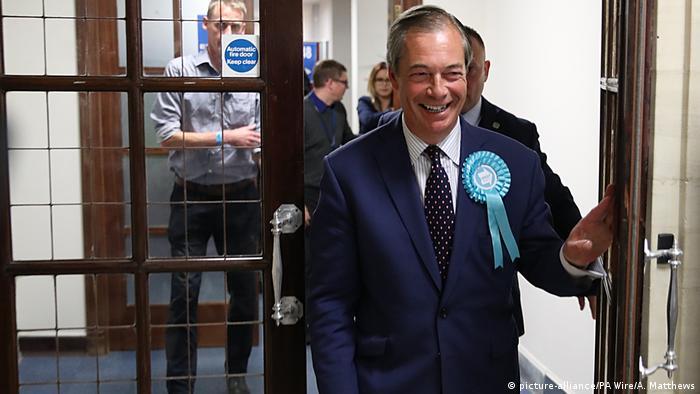 Großbritannein Europawahl Nigel Farage