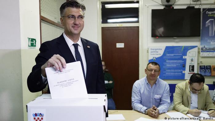 Kroatien Europawahl - Andrej Plenkovic