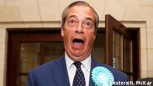 Großbritannien Nigel Farage in Southampton