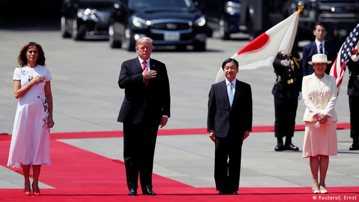 Japan Donald Trump trifft Kaiser Naruhito in Tokio (Reuters/J. Ernst)