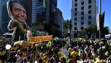 Brasilien Demonstration in Sao Paulo