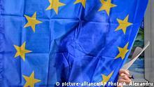 Rumänien Europawahl in Baleni