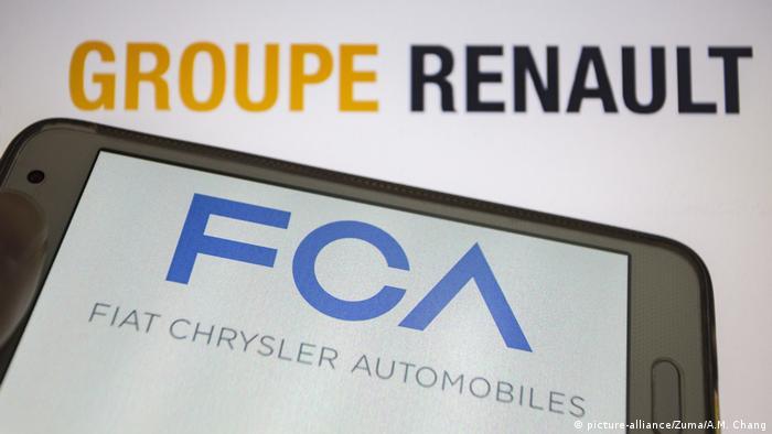Geplante Fusion von Fiat Chrysler und Renault