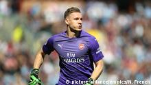 Fußball Arsenal London Torhüter Bernd Leno- Premier League (picture-alliance/empics/N. French)