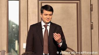Партію Слуга народу очолив радник Володимира Зеленського Дмитро Разумков