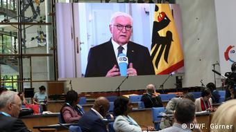 Ο γερμανός Πρόεδρος της Δημοκρατίας Φρανκ Βάλτερ-Σταϊνμάιερ στο GMF