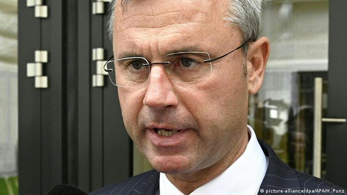 Wien Nationalrat Österreich Misstrauensantrag gegen Kurz / Norbert Hofer FPÖ